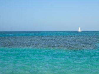 キーカーカー島に滞在。行き方とメキシコ出国税、帰り方とベリーズ出国税、あと物価。