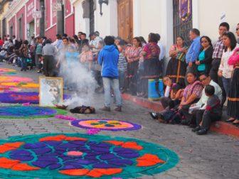 【セマナサンタ】グアテマラのケツァルテナンゴで迎えた聖週間。