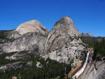 【アメリカ西海岸レンタカー旅 3】ヨセミテ、ハーフドームの頂上へ(※要パーミット)