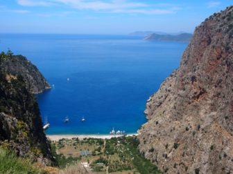 トルコの地中海沿い、リキアンウェイ(Lycian way)を3泊4日のトレッキング。