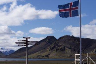 快晴、でも27kmは長過ぎる。アイスランド・ロイガヴェーグルトレッキング【2日目】