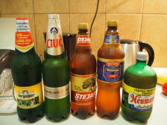お気に入りの街シビウと、ルーマニア産ビールとワイン