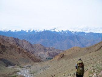【ラダック地方でピークハント】2泊3日パブラ&ホンザピーク(標高5,615m)登頂